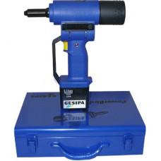 Заклепочник аккумуляторный для вытяжных заклепок 4.8-6.4 POWERBIRD