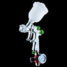 EGO HVLP Краскопульт пневматический, сопло 1,4 мм, верхний бачок пластиковый 180 мл WALCOM 1002314