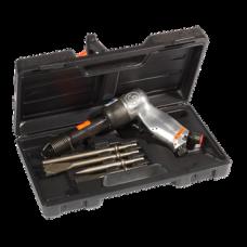 CP714K Пневзубильный молоток с набором зубил 2000 ударов/мин, 4,7 Дж, 1,5 кг CHICAGO PNEUMATIC T025364