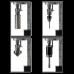 ECO.100/4D Магнитный сверлильный станок ø12-100 мм, КМ3, 28 кг,4 скорости, юстировка, резьба до М30 EUROBOOR ECO.100/4D