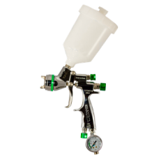 GENESI S НVLP Краскопульт пневматический, сопло 1,7 мм, верхний бачок пластиковый 680 мл WALCOM 943017
