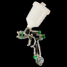 GENESI S НVLP Краскопульт пневматический, сопло 0,8 мм, верхний бачок пластиковый 680 мл WALCOM 943008