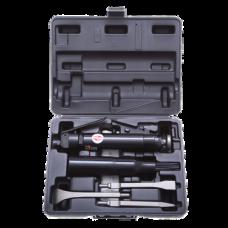 41486 Пневмозубильный молоток - трамбовка - скаллер игольчатый, прямого типа, в наборе, 4600 уд/мин, 2,8 кг REVTOOL A16R0486К
