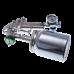 9010 HVLP Краскопульт пневматический, сопло 1,5 мм, нижний бачок алюминиевый 1000 мл ASTUROMEC 21615