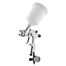 GENESI S HTE Краскопульт пневматический, сопло 1,0 мм, верхний бачок пластиковый 680 мл WALCOM 953010