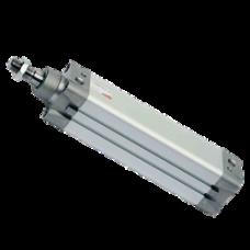 Пневмоцилиндр серии 61, двусторонний, магнитный, гайка на штоке, Ø 32 мм, ход 100 мм CAMOZZI