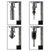 ECO.100/4 Магнитный сверлильный станок ø 12-100 мм, КМ3, 28 кг, 4 скорости, нарезание резьбы до М30 EUROBOOR ECO.100/4