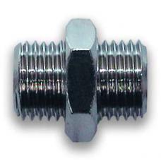 "A121/8 Фитинг-переходник М3/8"" - М3/8"", цилиндрическая резьба VEPA A121/8"