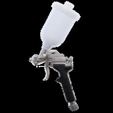 ES/RV Мини краскопульт пневматический, сопло 0,5 мм, верхний бачок пластиковый 75/250 мл ASTUROMEC 34005