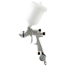 GENESI S HTE Краскопульт пневматический, сопло 2,5 мм, верхний бачок пластиковый 680 мл WALCOM 953025