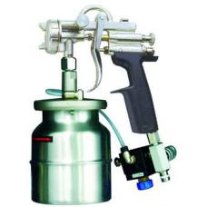 G1/T Краскопульт пневматический, сопло 2,5 мм, нижний бачок алюминиевый 1000 мл ASTUROMEC 36225