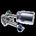 9010 HVLP Краскопульт пневматический, сопло 1,9 мм, нижний бачок алюминиевый 1000 мл ASTUROMEC 21619