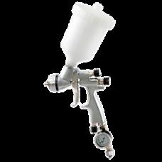 GENESI S HTE Краскопульт пневматический, сопло 1,7 мм, верхний бачок пластиковый 680 мл WALCOM 953017